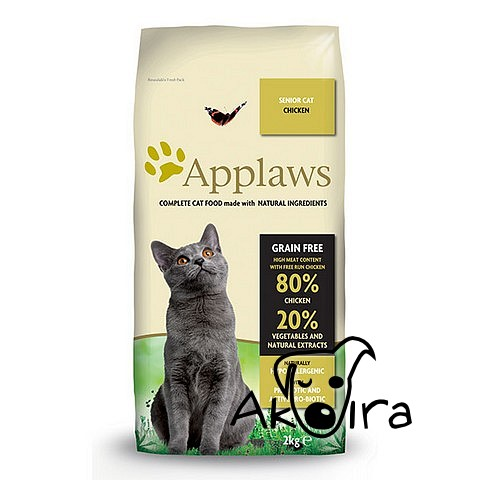 Applaws Cat Senior Chicken 2 kg