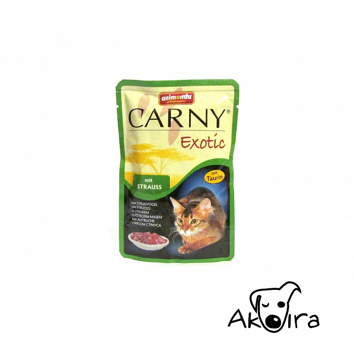 Animonda Carny Exotic mit Strauss cat kapsička 85 g